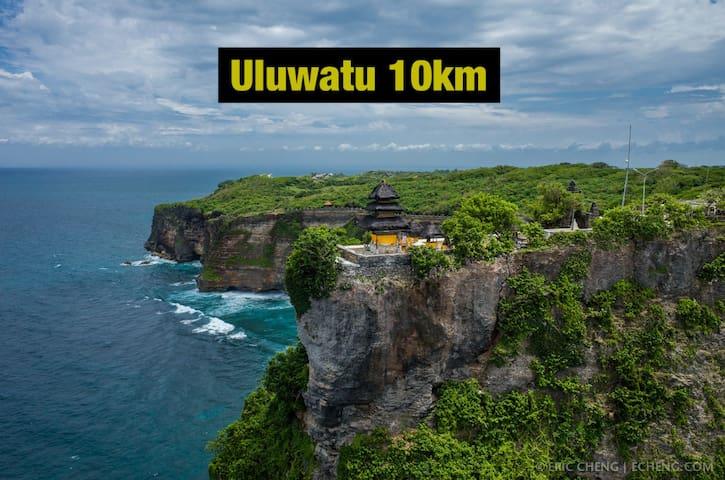 Uluwatu - 10km