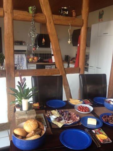 Altes Elb-Bauernhaus - Bleckede - Bed & Breakfast
