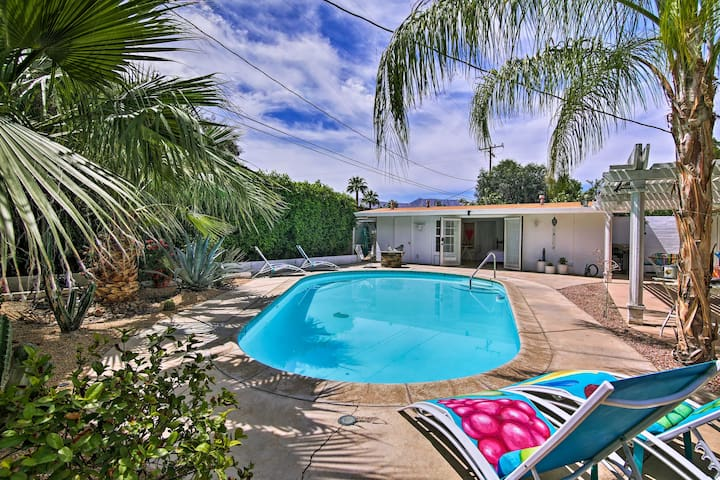 Palm Desert Casita w/Pool - 1 Mi. to El Paseo