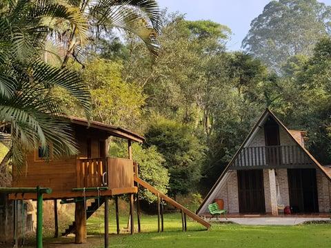 Green Refuge 12 miles from Sao Paulo (Capital).