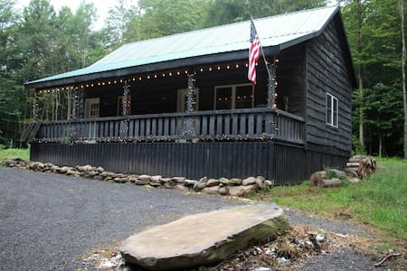 Private Cabin On 50 Acres, ATV Trail, Salmon River