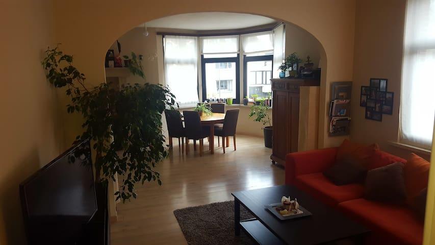 Leuk, groen en gezellig appartement in Deurne. - Antverpy - Byt