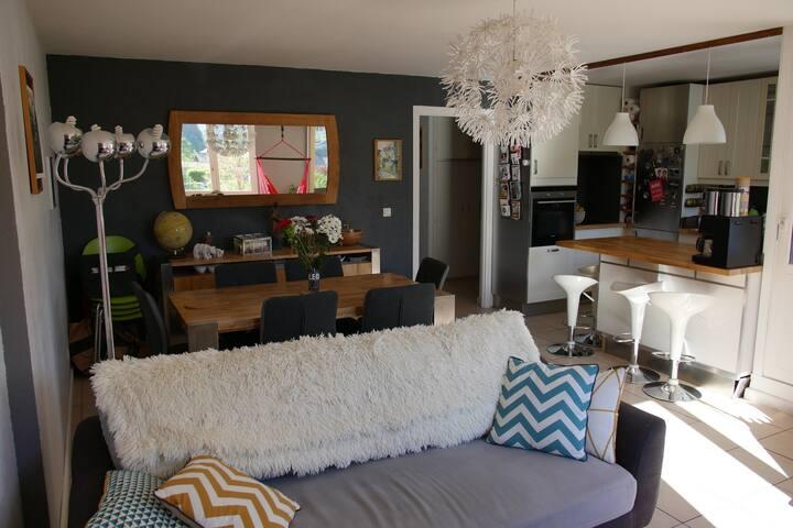 Appartement 2 chambres Duingt lac d'Annecy - Duingt - Appartement