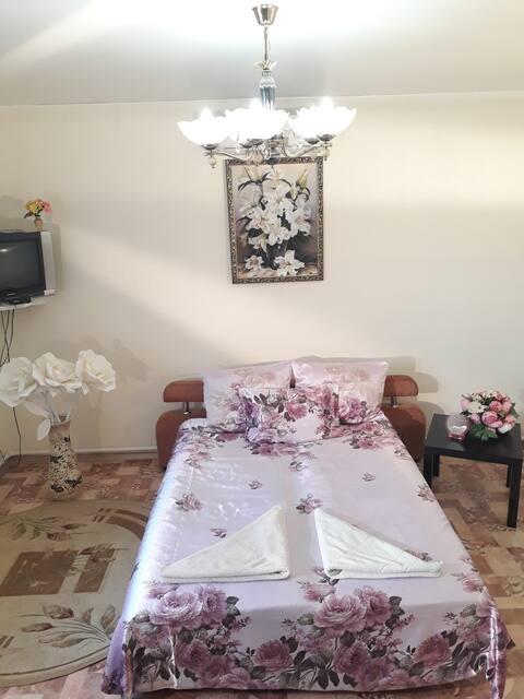 Квартира с идеальной чистотой и удобствами