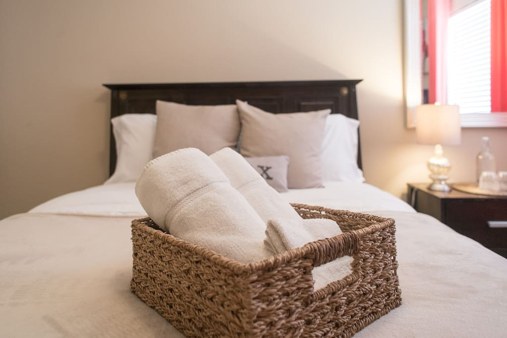 We provide your linens and towels.