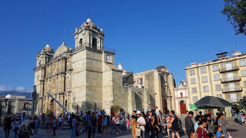 Oaxaca's Cathedral