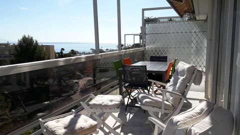 Magnifique appartement avec vue sur la mer