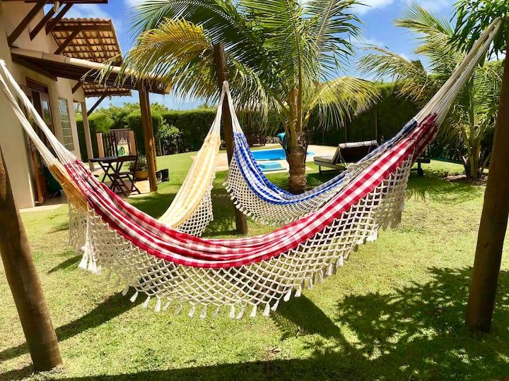 Confortável Chalé,piscina privada. Villa Sandunes