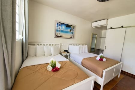 La Jamaca Hotel -Room with 2 double beds-4 persons