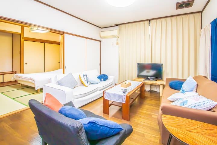 ★Free Parking★ Near Tenjin Family House Max10ppl
