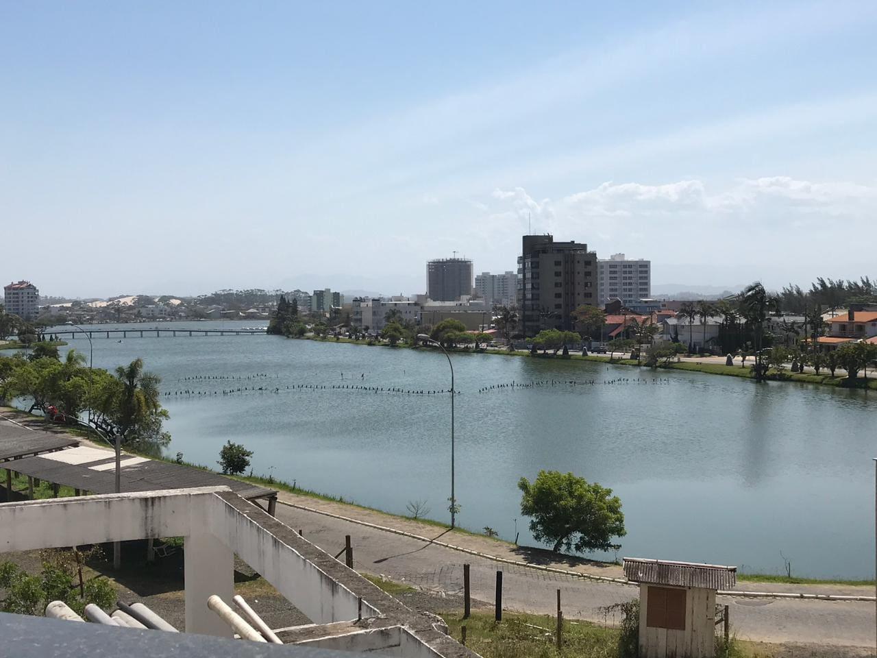 Vista da sacada do Apartamento Lagoa do Violão
