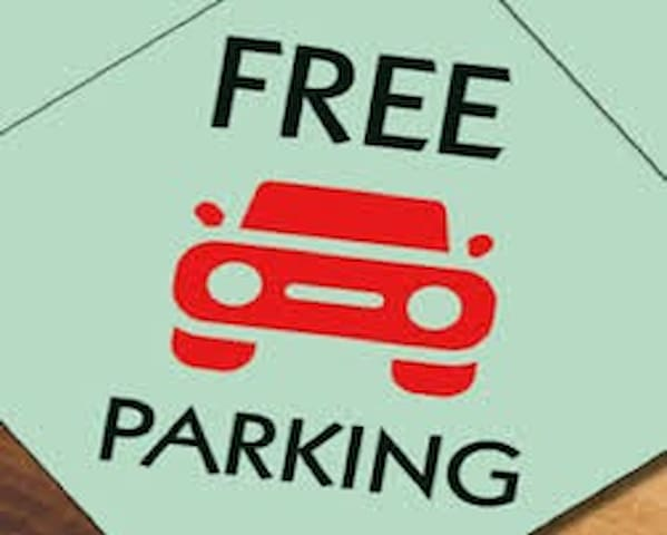 Free parking for all guests!