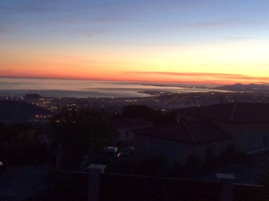 Une des vues sublime depuis la maison