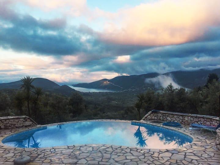 Villa. Sea views. Mountain views. All the views :)