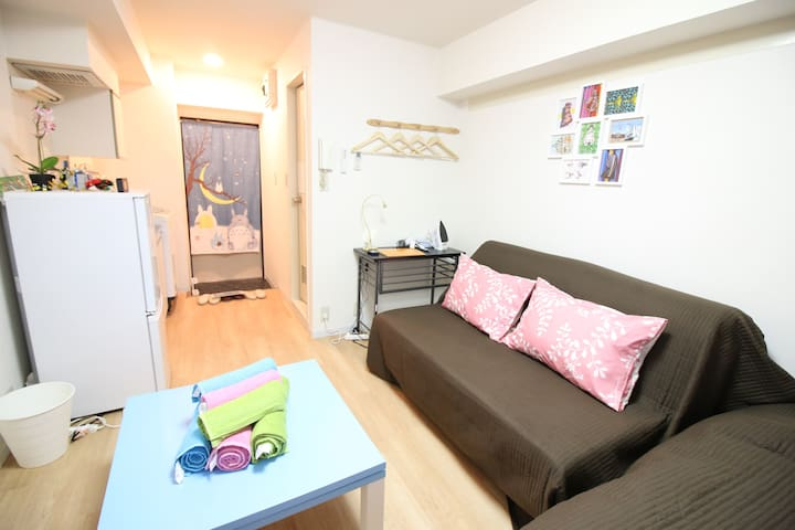 Cozy room,Heart of Shibuya, free wifi,close to sta - Shibuya-ku - Διαμέρισμα