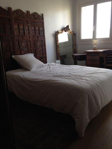 Chambre ensoleillée à Montrouge