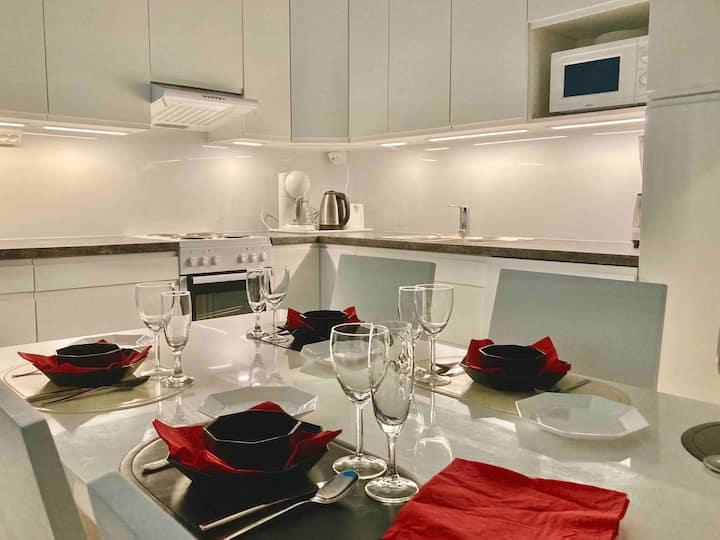 Spacious 1 bedroom flat in Kallio -