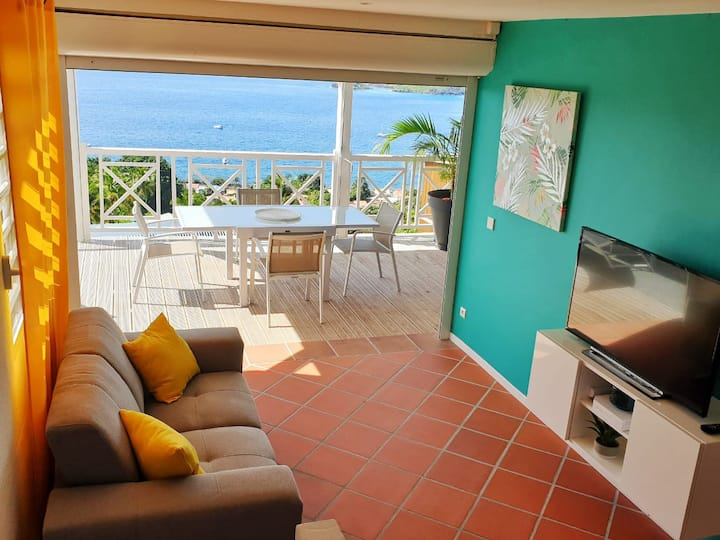 Duplex up to 5 guests with sea views & sunset 🏝