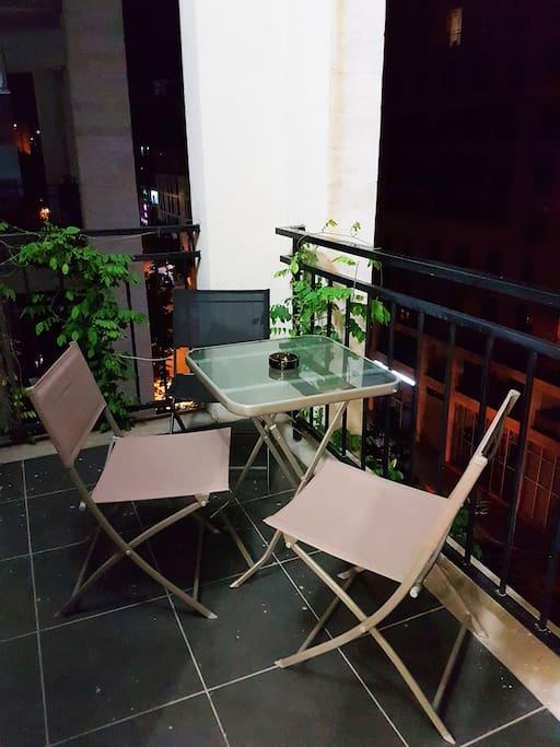 Balcony 9 sq.m