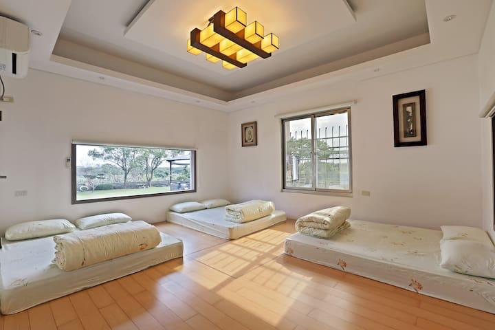 Hualien Taroko YU's B&B 景觀家庭六人房