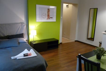 Safe studio in the city center 105L - Katowice - Leilighet