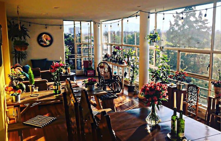 1 Pretty Room in Condesa! - Mexico City - Lägenhet