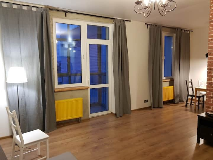 Apartments near Kazan Arena 50m2