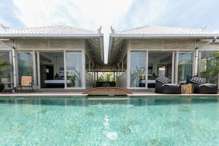 2 bedrooms & Private Pool Villa close to the beach - Mengwi - Vila