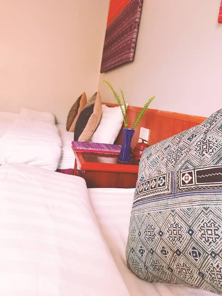 Sapa O'Chau Hotel - Triple Room (Nhi Ghe)