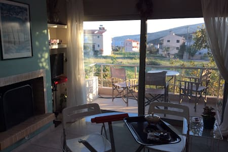 Sunset at Cape Sounio ( Apartment 2 bedrooms )