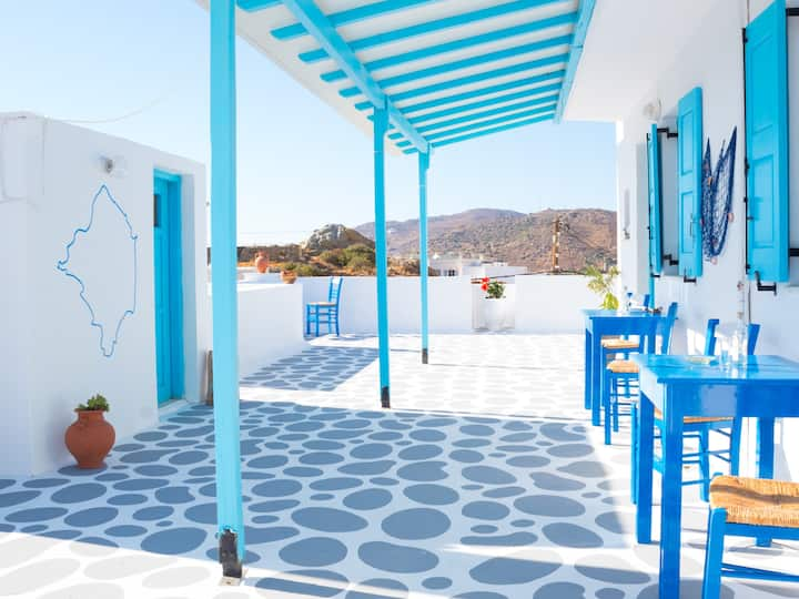 ★ Terrace Studios ★ 5 km away from Naxos Town