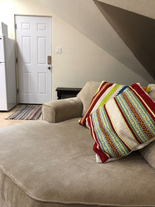 Cozy seating