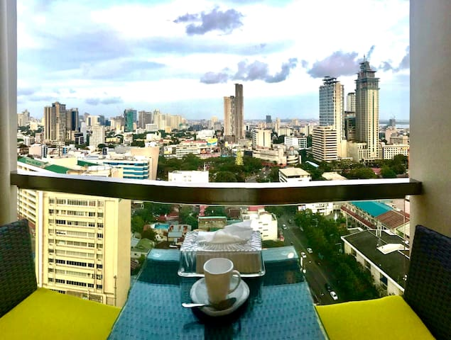 PENELOPE'S Practical Place with Cebu's City View