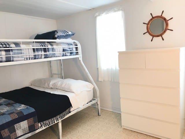 Bedroom 2 - twin over double bunk