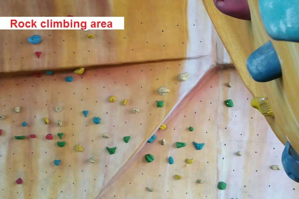 Facilities - Rock Climbing