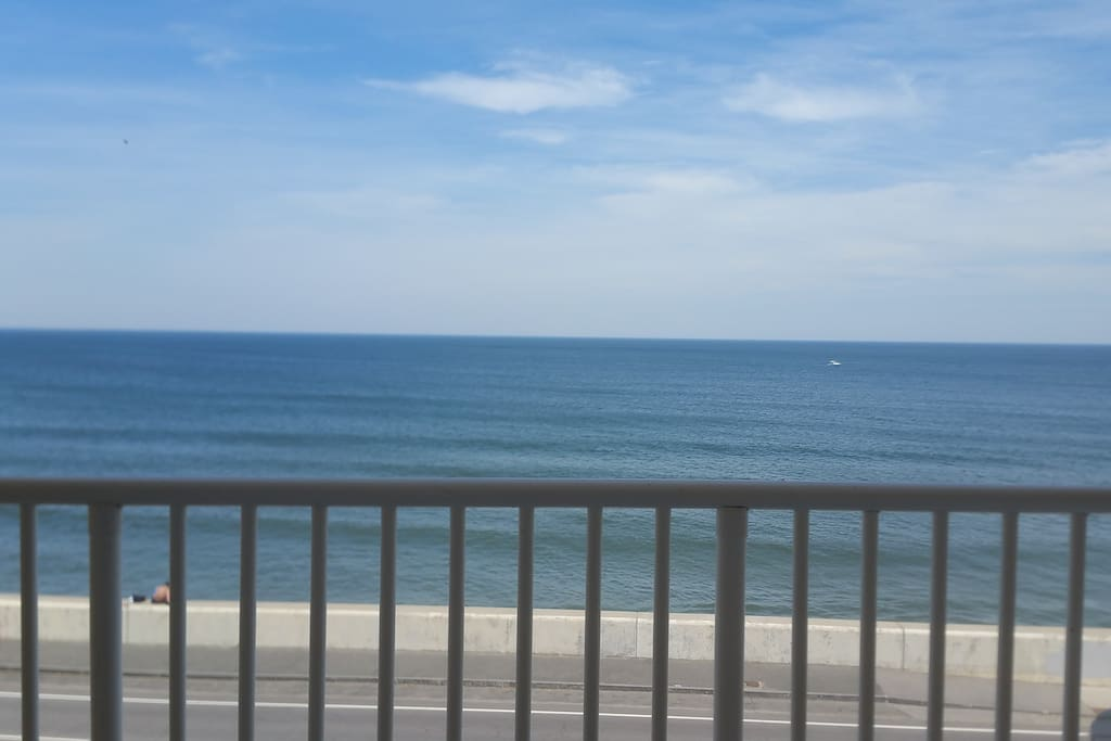 Ocean view from your balcony