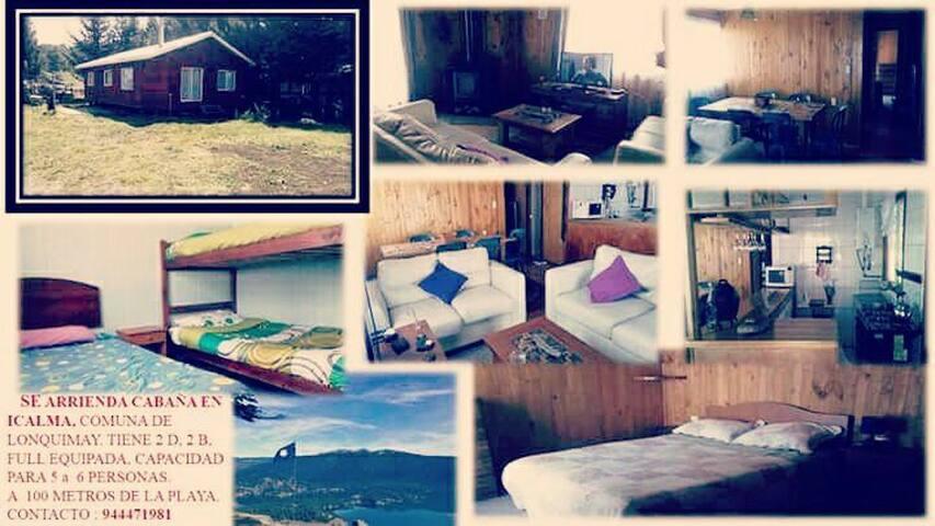 Cábaña en la montaña, Icalma - Icalma - บ้าน