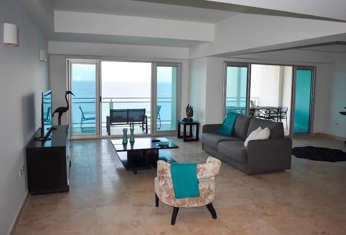 Luxury Cliff Side Condo Overlooking the Sea