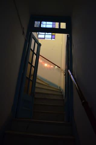 Gran habitación con balcón - Buenos Aires - Huis