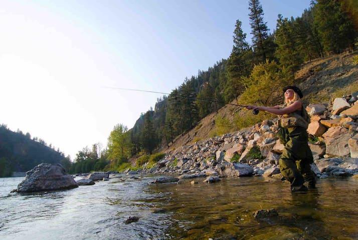 Similkameen River View