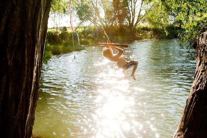 baignade à Mirepeisset