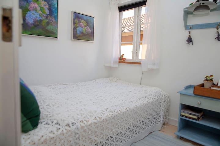 Den Gule Gavl - B&B - lille værelse, Samsø