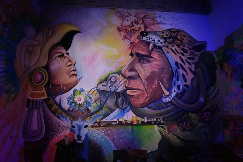 Primer Municipio Con galeria al cielo abierto , mas de 120 murales en el municipio.