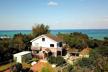 360㎡ House  seaview ONNA, 5BR Party  MAX20P海灘徒歩2分D