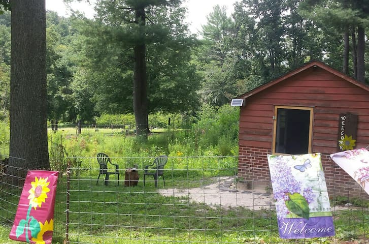 East West Equestrian Arts glamping cabin
