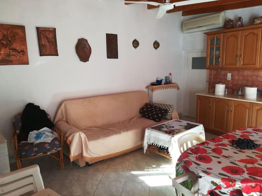 Living Room-Second Bedroom