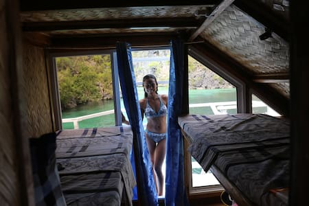 Nemo Room. The only accom. in Coron Island