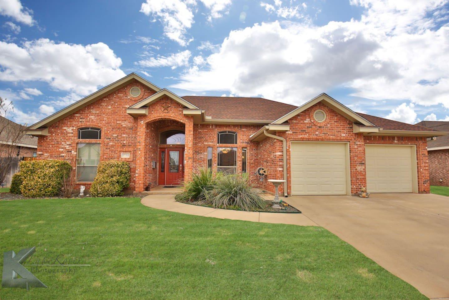 Beautiful home near Abilene Christian University.