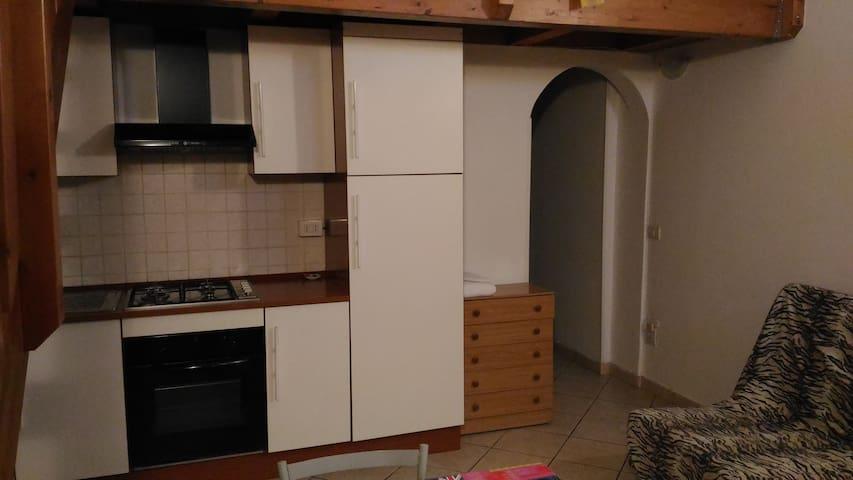 Loft gemello con soppalco in legno. - Porto Sant'Elpidio - Huoneisto