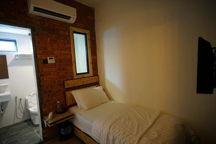 A cozy room to sleep alone